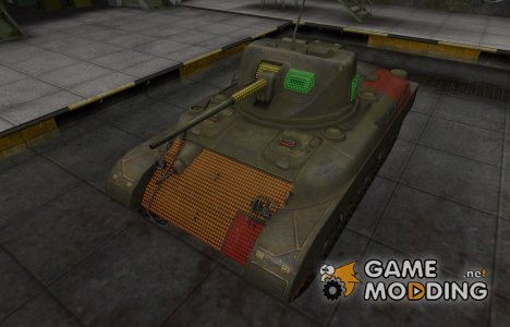 Зона пробития M7 for World of Tanks