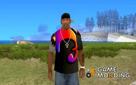 Прикольная футболка для GTA San Andreas