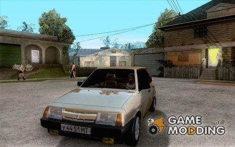 Ваз 2109 Спутник for GTA San Andreas