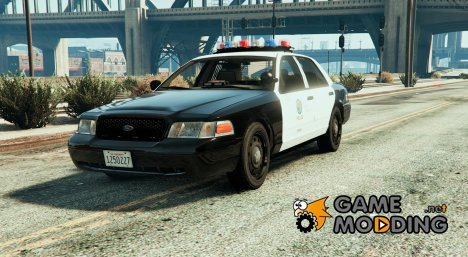 Police Crown Victoria Federal Signal Vector для GTA 5