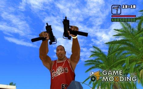 Uzi-Tek 9 for GTA San Andreas