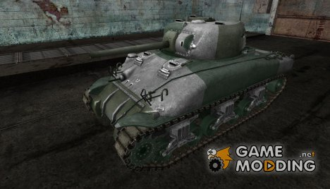 M4 Sherman от Nathaniak для World of Tanks