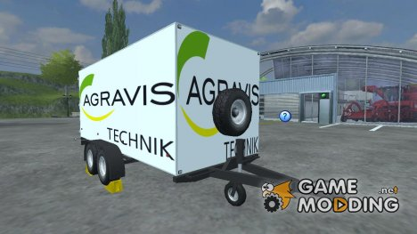 Sprinter trailer for Farming Simulator 2013