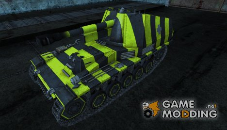 Wespe 01 для World of Tanks
