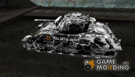 Шкурка для T14 for World of Tanks