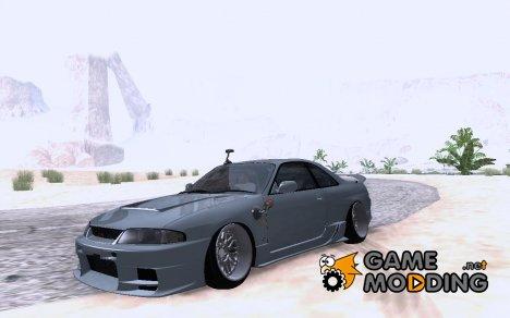Nissan Skyline R33 для GTA San Andreas