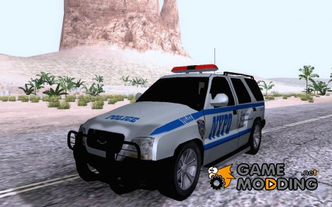 NYPD Chevrolet Chevvy Blazer for GTA San Andreas