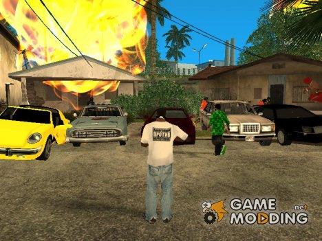 Пак машин из GTA Vice City для GTA San Andreas