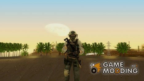 Modern Warfare 2 Soldier 15 для GTA San Andreas