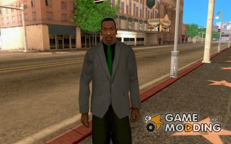 Suit With Green tie для GTA San Andreas