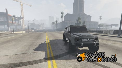 Mercedes-Benz G65 6x6 for GTA 5