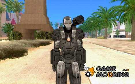 Iron man War Mac for GTA San Andreas