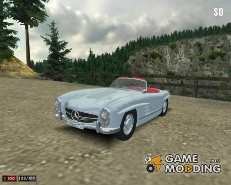 Mercedes-Benz 300SL Roadster for Mafia: The City of Lost Heaven