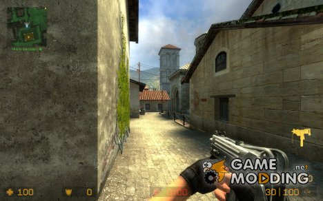 Metalic Mac-10 for Counter-Strike Source