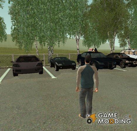 Пак машин, скинов, оружия и т.д из GTA 5 for GTA San Andreas