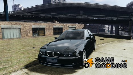 BMW 530I E39 stock white wheels для GTA 4