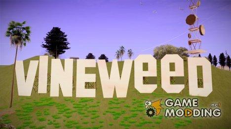 Vineweed for GTA San Andreas