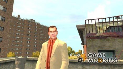 Лысый Нико для GTA 4