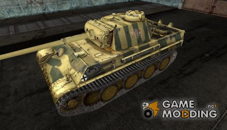 Шкурка для Pz V Panther №70 for World of Tanks