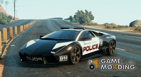 Lamborghini Reventon Police for GTA 5