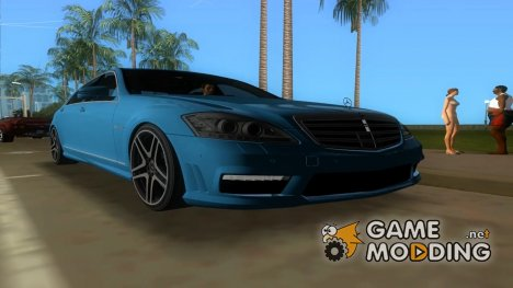 Mercedes Benz S65 AMG 2012 for GTA Vice City