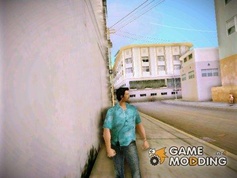 Стандартный Томми в HD for GTA Vice City