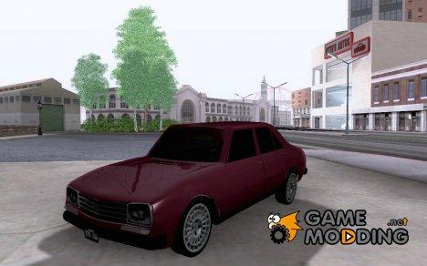 Peugeot 504 for GTA San Andreas