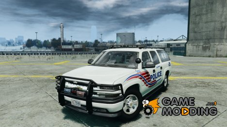 Chevrolet Suburban 2006 Police K9 UNIT for GTA 4