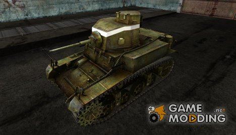 Шкурка для M3 Стюарт for World of Tanks