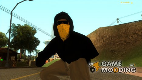 Новый бандит Vagos (lsv2) for GTA San Andreas