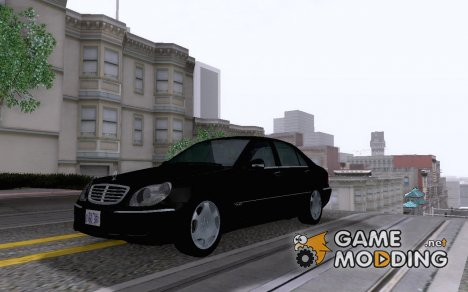 Mercedes-Benz S600 Biturbo '03 v2.01 для GTA San Andreas