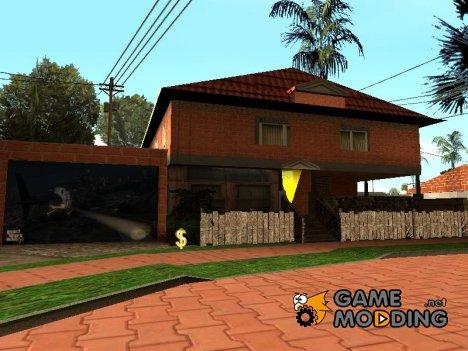 Новые текстуры домов на Грув Стрит для GTA San Andreas