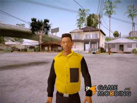 Will Smith Fresh Prince Of Bel Air v1 для GTA San Andreas
