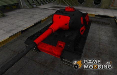 Черно-красные зоны пробития Löwe for World of Tanks