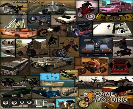 Tuning Mod v1.5b для GTA San Andreas