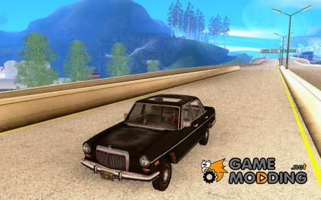 Автомобиль из COD MW 2 for GTA San Andreas