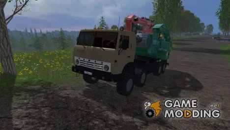 КамАЗ 6350 Щепорез для Farming Simulator 2015