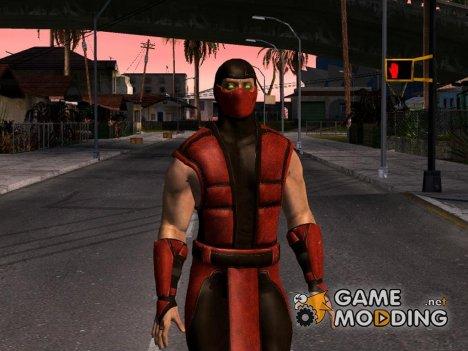 Mortal Kombat X Klassic Ermac for GTA San Andreas