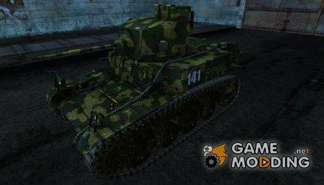 Шкурка для M3 Stuart для World of Tanks