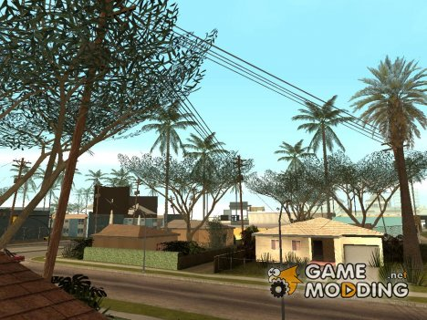 Beautiful vegetation для GTA San Andreas
