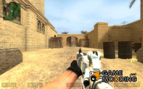 Valve's m4 on Alcad skin in DMG Anims for Counter-Strike Source