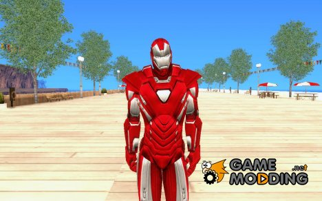 Iron man Silver Cen for GTA San Andreas