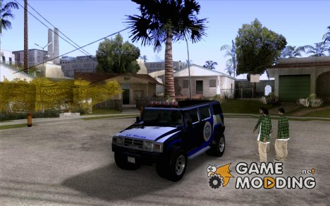 NOOSE Patriot из GTA 4 for GTA San Andreas