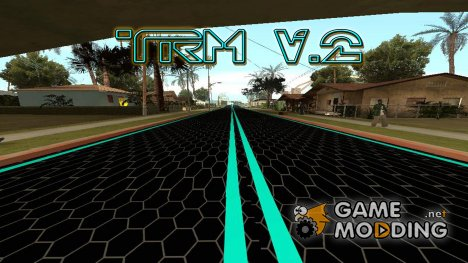 TRON ROAD MOD V.2 for GTA San Andreas