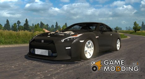 Nissan GT-R for Euro Truck Simulator 2