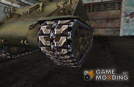Замена гусениц для M4A3