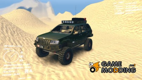 Jeep Grand Cherokee Expedition для Spintires DEMO 2013