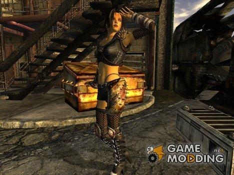 Sinbloods Venomous Armor для Fallout New Vegas