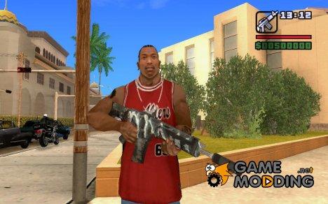 ACR с глушителем for GTA San Andreas