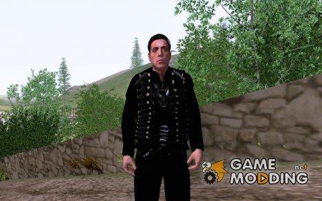 Till Lindemann для GTA San Andreas